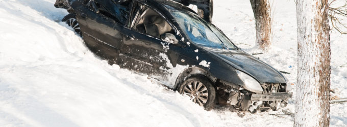 Car off the road in the snow-I've been in a car accident. Should I call an attorney in Anchorage, Alaska?